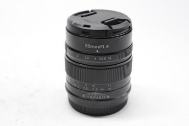 Pre-Owned - 7artisans Photoelectric 55mm f/1.4 Lens for Fujifilm X (Black)