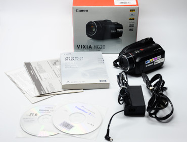 Pre-Owned VIXIA HF G20 Full HD BUILT IN 32GB MEMORY