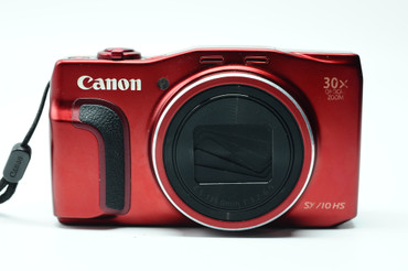 Pre-Owned Canon PowerShot SX710 HS Digital Camera (Red)