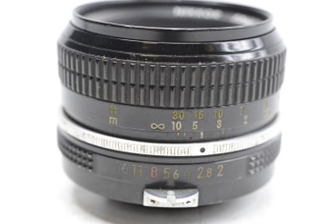 Pre-Owned - Nikkor 50mm f/2.0 Non-AI Manual Focus Lens