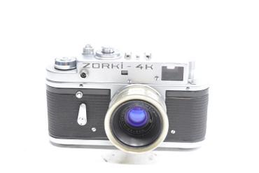 Pre-Owned Zorki 4K 35mm Film Camera w/35mm (3.5cm) F/2.8 Manual Focus Lens