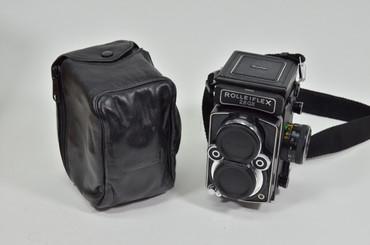 Pre-Owned - Pre-Owned -  Rolleiflex w/ 80mm F/2.8 GX SER#2985925  Carl Zeiss Planar HFT Camera  W/ leather case