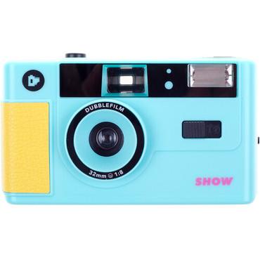 dubblefilm Show 35mm Reusable Film Camera (Turquoise)
