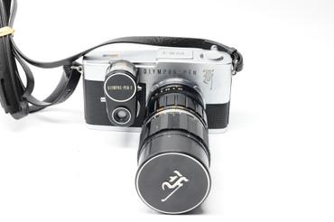 Pre-Owned Olympus   PEN-F w/meter, 50-90 lens f3.5, 1/2 Frame Film Camera