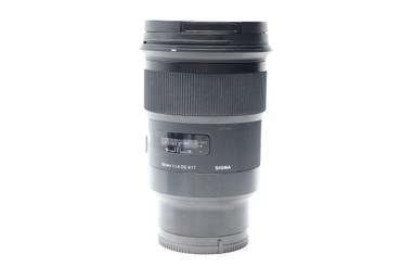 Pre-Owned - Sigma 50mm f/1.4 DG HSM ART Lens for Sony FE