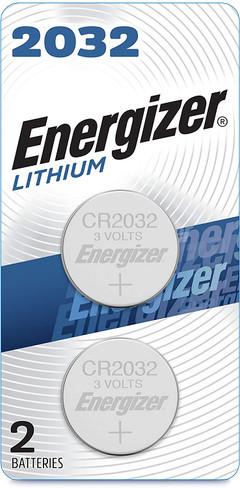 Energizer CR2032 Battery 2 packs