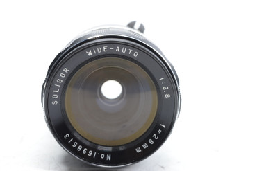 Pre-Owned - Soligor Wide-Auto 28mm F/2.8 for NIKON