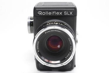 Pre-Owned Rolleiflex SLX w/HFT 80mm F/2.8 Planar Manual Focus Lens
