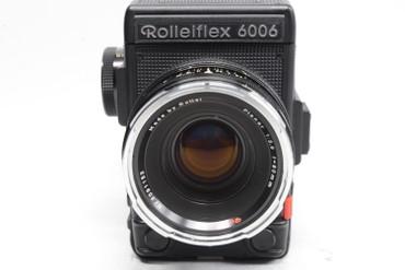 Pre-Owned Rolleiflex 6006 Model 2 w/Rollei HFT 80mm F/2.8 Planar Manual Focus Lens