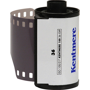 Kentmere Pan 100 Black and White Negative Film (35mm Roll Film, 36 Exposures)