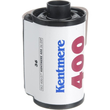 Kentmere Pan 400 Black and White Negative Film (35mm Roll Film, 36 Exposures)