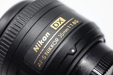 Pre-Owned - Nikon AF-S 35mm F/1.8G DX Lens