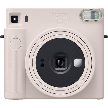 FUJIFILM INSTAX SQUARE SQ1 Instant Film Camera (Chalk White)