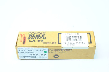 Contax Cable Switch La-50  for  645AF film camera