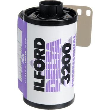 Ilford Delta 35mm Film 3200 36 Exp (B&W)