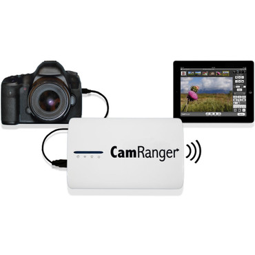Pre-Owned CamRanger Remote Nikon & Canon DSLR Camera Controller, Wireless Camera Control from iPad, iPhone, iPod Touch, Android, Mac or Windows Computer