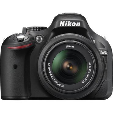 D5200 Digital SLR Camera With 18-55mm Lens (Black)