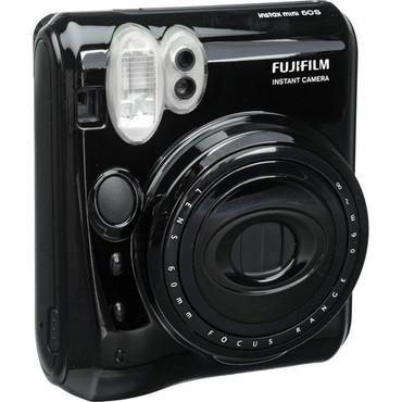 Fujifilm Instax Mini 50S Instant Print Camera (Piano Black