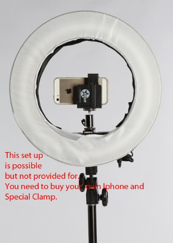 "12"" Ringlight With Stand Mount"
