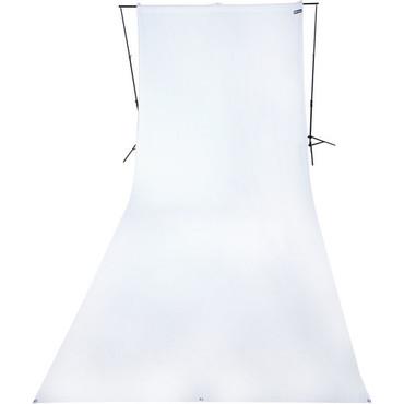 9X20' Wrinkle-Resistant Cotton-Hi Key White