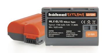 hähnel Extreme Li-Ion HLX-EL15 Battery for Nikon Digital Cameras EN-EL15