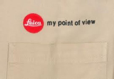 "Size L ""My Point Of View"" Mens Button-Up White"