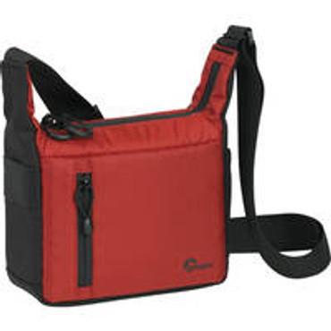 """Streamline 100 Shoulder Bag(8.1X3.5X8.7"""",Red/Blk)"""