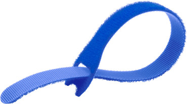 EZ-TIE Cable Ties 0.78 X 7.87''- Blue(50 Pk)