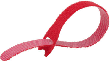 EZ-TIE Cable Ties 0.78 X 7.87''- Red (50 Pk)