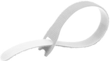 EZ-TIE Cable Ties 0.78 X 7.87''-Wh (50 Pk)