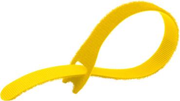 Kupo EZ-TIE Sim Cable Ties .78X7.87''-Yel(50 Pk)
