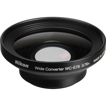 WC-E76 Wideangle Converter Lens