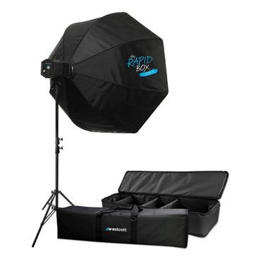 "Skylux LED 1-Light XL Kit with Rapid Box 36"""