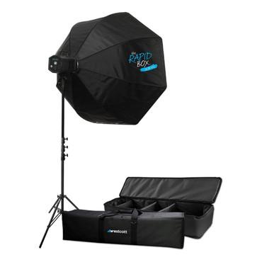 "Skylux LED 1-Light XL Kit with Rapid Box 48"""