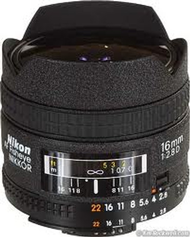 16Mm F2.8 D Fisheye