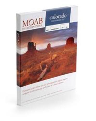 Moab - 13X19 25Sh/245 Colorado Fiber Gloss S/Side
