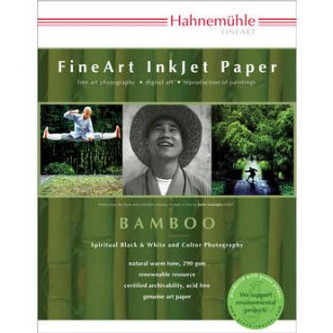 """Fine Art Bamboo 290Gsm, 8.5X11"""", 25 Sheets"""
