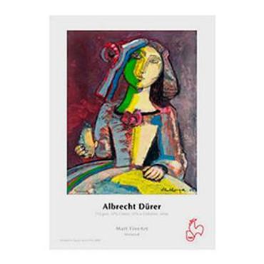 "Hahnemuhle Albrecht Durer, 50% Rag, Textured Matte Surface, Natural White Inkjet Paper, 210 gsm, 11x17"", 25 Sheets"