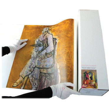 """Hahnemuhle Canvass Metallic 350gsm, 44""""x39', 3"""" core"""