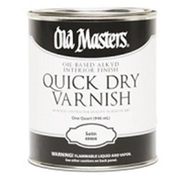 Master Varnish Satin Slow Dry 1 quart