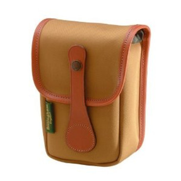 Avea 5 Pouch, Khaki Canvas With Tan Leather Trim