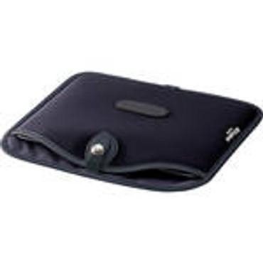 Billingham Tablet Slip Case (Black Canvas & Leather Trim)
