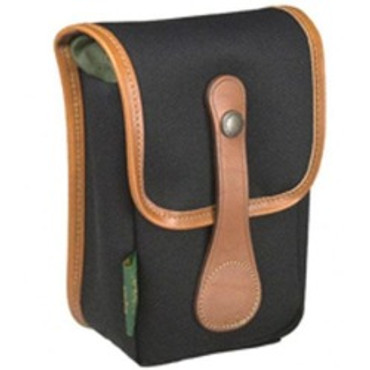 Avea 5 Pouch (Black With Tan Leather Trim)