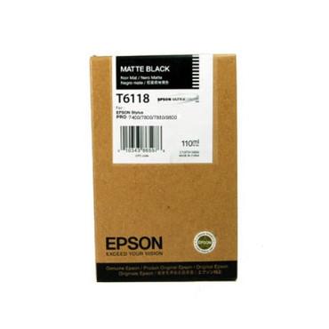 T6118/110Ml MATTE BLACK For 7800/9800/7880