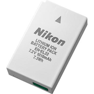 Nikon EN-EL22 Rechargeable Lithium-Ion Battery for Nikon 1 J4 and S2 (7.2V, 1010mAh)