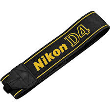 AN-DC-7 Neck Strap For D4 Camera (Blk/Yellow)