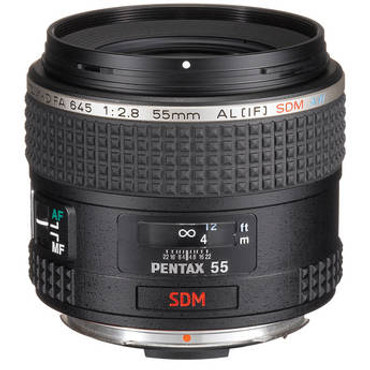 D FA 645 55Mm F2.8 AL[IF] SDM AW Lens