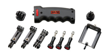 Kamerar Kam.Pro Ergo Pistol Hand Grip Kit Handgrip Handle Stabilizer with Tripod Mount For GoPro Go Pro HERO 1 2 3 3+ Cameras
