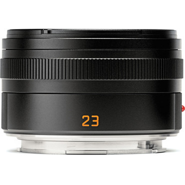 Leica Summicron-TL 23mm f/2.0 ASPH Lens (Black)