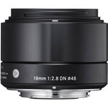 Sigma 19mm f/2.8 DN Lens for Micro Four Thirds (Black)